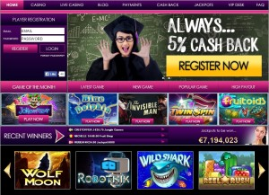 Internetpagina No Bonus Casino